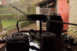 Cuadra asturiana en el Museo Etnográfico del Oriente de Asturias