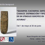 """""""Gaxapos, cachapas, zapicos y canaos""""     Del 1 de mayo al 30 de junio"""