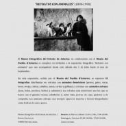Exposición de retratos con animales- Julio a Septiembre
