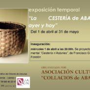 """Del 1 de abril al 31 de mayo- Exposicion temporal   """"Cestería de Aballe: ayer y hoy"""""""