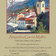 PINTURAS de Alejandra García Mallén – 1 al 30 septiembre