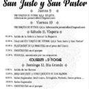11 y 12 de agosto- FIESTAS DE SAN JUSTO Y SAN PASTOR en PORRÚA