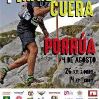 Sábado 4 de agosto – I TRAIL DE CUERA – PORRÚA