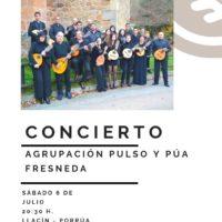 CONCIERTO – SÁBADO 6 DE JULIO a las 20:30h.
