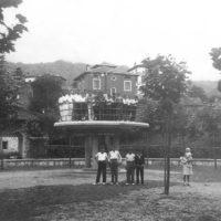 Obra e inauguración del templete del Parque (1934)