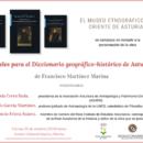 Viernes 25 de octubre -Presentación de la obra de Francisco Martínez Marina